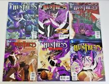 HUNTRESS 6 ISSUE COMPLETE SET 1-6 (2011) DC
