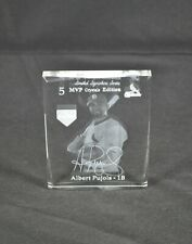 Albert Pujols MVP Crystals Limited Signature Series #4 of 100