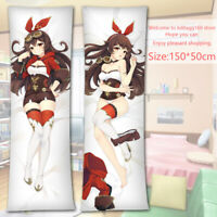 Keqing Genshin Impact Anime Dakimakura Japanese Hug Body Pillow Case 150x50cm