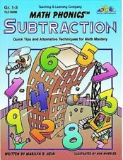 Subtraction: Quick Tips and Alternative Techniques for Math Mastery, Grades 1-3