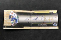 2014-15 UPPER DECK PREMIER BO HORVAT ROOKIE RINKS OF HONOR AUTO BOOKLET #RH-BH