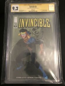 INVINCIBLE #75 RETAILER VARIANT EDITION CGC SS 9.2 Signed w/sketch Ryan Ottley