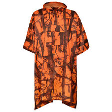 percussion flammes Ghost Camouflage Imperméable poncho - Chasse Pêche Randonnée