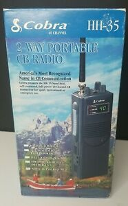 COBRA HH-35 NEW IN BOX 2-WAY PORTABLE CB RADIO 40 channel-New With Box.