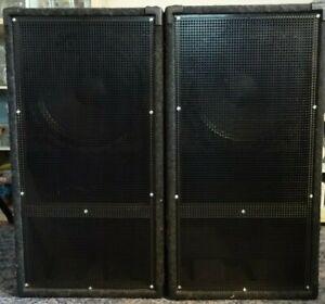 2 x PA Bass, Subwoofer, Bassrutsche, Basshorn