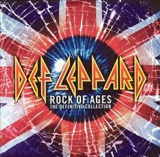 DEF LEPPARD ~ ROCK OF AGES THE DEFINITIVE COLLECTION ~ 2 CD SET 2005 MERCURY