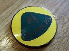 Badge, Eunos Roadster retro style, Mazda MX5 yellow / green 55mm, MX-5 not Lotus