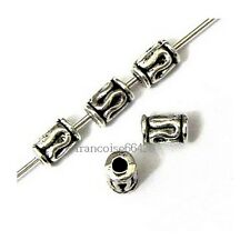 25 Intercalaires spacer Cylindre 5.5x3.5x3.5mm Perles apprêts créat bijoux A292