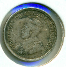 1918 CANADA SILVER FIVE CENTS, NICE VERY FINE-EXTRA FINE, GREAT PRICE!