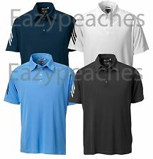Adidas Golf Mens S-XXL 3XL Climacool Mesh All Tour CoolMax Sport Polos $65 A64