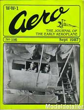 WW 1 Aero Journal 116, Early Aviators Builders Pilots Gilmore Quimby Caproni