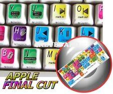 Apple Final Cut keyboard stickers