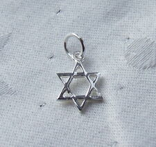 STAR OF DAVID CHARM 925 STERLING SILVER