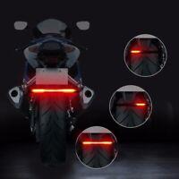 Motorrad LED Rücklicht Blinker Lauflicht Lichtleiste Bremslicht Universal 1pcs
