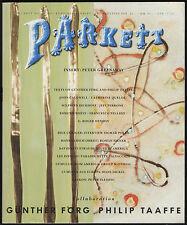 Parkett n° 26. December 1990. Günther Förg, Philip Taaffe, Peter Greenaway…