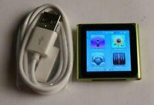 Apple iPod nano 16 GB 6th Generation Green - Works Great