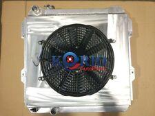 Alloy Radiator&Shroud&Fan Hilux 2.4L & 2.8L 4Runner 2L 3L Diesel 1983-1997 83-97