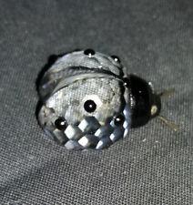 Swarovski Silver Crystal Ladybird / Ladybug /190858 Original Box, Retired, Rare.
