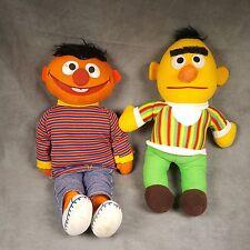Vintage Sesame Street Bert And Ernie Plush Toys