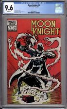 Moon Knight 31 CGC Graded 9.6 NM+ White Pages 1983