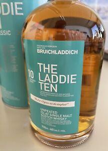 Bruichladdich The Laddie Ten 10y Islay Single Malt Whisky 46% 0,7L first edition