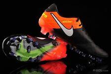 Nike Tiempo Legend VI FG UK 7.5 Eu 42 Black Hyper Orange Volt RRP£165.00