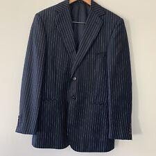 Oxford 100% Wool Pin Stripe Suit Size S