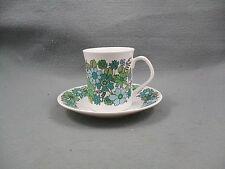 Elizabethan Portobello Copa y platillo de café verde