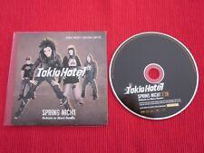 CD SINGLE TOKIO HOTEL SPRING NICHT ROBOTS TO MARS REMIX 2007