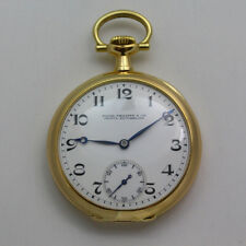 Antique 1891 18k Yellow Gold Patek Philippe for Ludy & Taylor OF Pocket Watch
