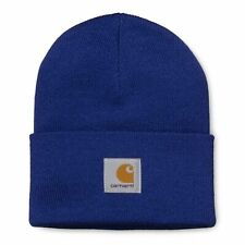 CARHARTT ACRYLIC WATCH HAT I020222 beanie BLUE cappello unisex old school