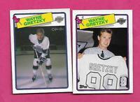 1988-89 OPC / TOPPS  # 120 KINGS WAYNE GRETZKY NRMT-MT CARD   (INV# D1059)