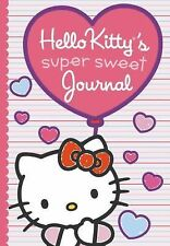 NEW Hello Kitty's Super Sweet Journal by Kristin Ostby Hardcover Book (English)