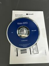 Microsoft Visio Professional 2013 - BRAND NEW  (32-bit and 64-bit)