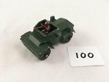 CORGI JUNIORS # 84 DAIMLER SCOUT CAR ARMOURED ARMY MILITARY VEHICLE DIECAST 1973