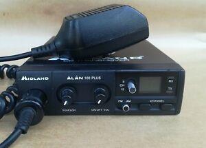 MIDLAND ALAN 100 PLUS AM-FM 40 CH.