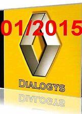 Renault dialogys 4.36 du 1/ 2015 version portable + gamme arreté + motrio
