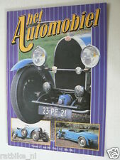 HA-27 BUGATTI TYPE 49 VINTAGE CAR ARTICLE AND POSTER 7 PAGES