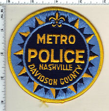 Nashville Metro Police (Tennessee) Shoulder Patch from 1985
