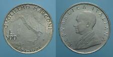 REPUBBLICA ITALIANA 500 LIRE 1974 MARCONI FDC 2