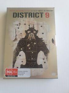 District 9 (DVD, 2009) metal case