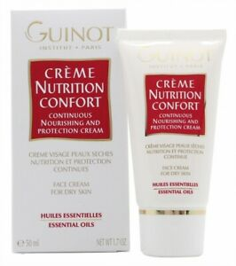 GUINOT CREME NUTRITION CONFORT CONTINUOUS NOURISHING AND PROTECTION FACE CREAM