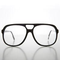 Large Black Bifocal Aviator Reading Glasses 3.75 Diopter - Ross