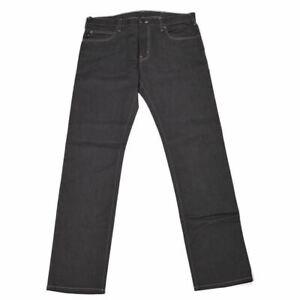 EMPORIO ARMANI Jeans Grey Cotton Blend Slim Fit Size J45 W 28 L 32 MA 338
