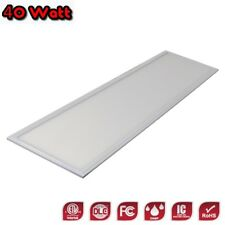 1x4-40W-5K-LED Flat Panel Light-DLC-Energy Efficient-Dimmable (0-10V)-5YR Warr.