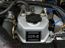 22RE or 22R - 22R-TEC(tubrbo) - 22R-TE Engine Label - Toyota Parts