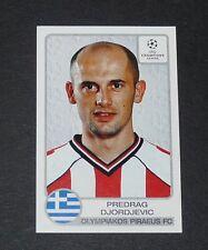 #224 DJORDJEVIC SRBIJA OLYMPIAKOS HELLAS FOOTBALL CHAMPIONS LEAGUE 2001-2002