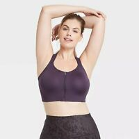 Women's High Support Zip-Front Bra - All in Motion