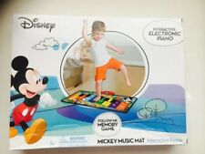 DISNEY MICKEY MOUSE,INTERACTIVE ELECTRONIC FLOOR PIANO,MUSIC MAT,KIDS 3+,NEW.