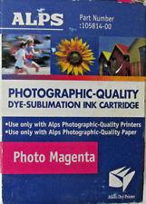 original Alps 105814-00 MD Printer tinte PHOTO MAGENTA DYE SUB neu D